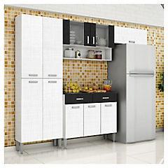 Kit muebles de cocina 220x201x36 cm melamina - Sodimac.com