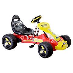 Auto de carrera para niños rojo