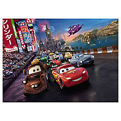 Papel fotomural Cars 254x184 cm