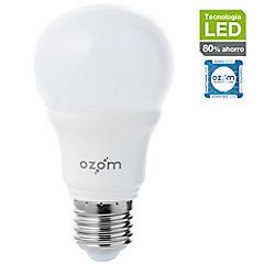Ampolleta LED 8,5W E27 luz fría