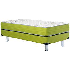 Box Americano Dormiflex 1.5 plazas verde