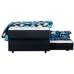Diván cama 1,5 plazas 58x105x190 cm