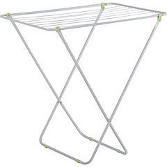 Tendedero de ropa 52x79x78 cm aluminio