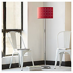Lámpara de pie Consuelo 1 luz rojo