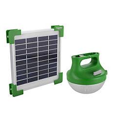 Linterna con panel solar 1,2 W