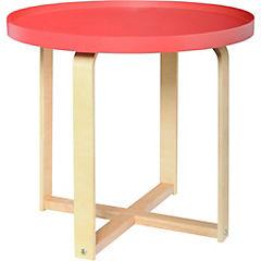 Mesa auxiliar 45x50x50 cm rojo