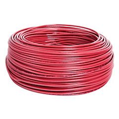 Cable eléctrico 12 AWG 0,6 kW 50 m Rojo