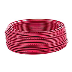 Cable eléctrico 14 AWG 0,6 kW 50 m Rojo