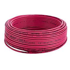 Alambre de cobre aislado 1,5 mm2 25 m Rojo