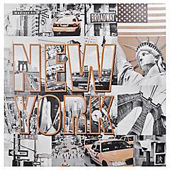 Canvas 80x80 cm New York