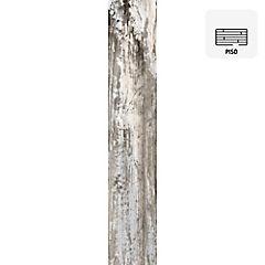Porcelanato 15x90 cm 0,945 m2 blanco