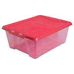 Caja Deluxe 10,7 litros fucsia