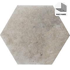Porcelanato 33x28,5 cm gris