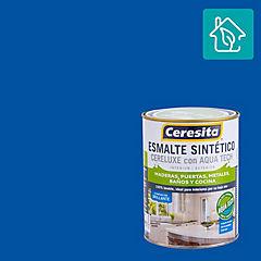 Esmalte sintético Cereluxe ultra azul rey 1/4 gl
