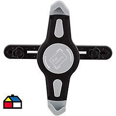 Porta tablet para auto plástico Negro 4,5x31 cm