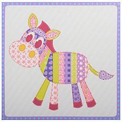 Canvas decorativo infantil Burrito 30x42,5 cm