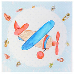 Canvas decorativo infantil Avioncito 30x42,5 cm