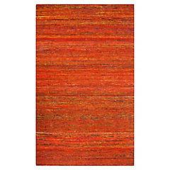 Alfombra Sari 160x230 rojo