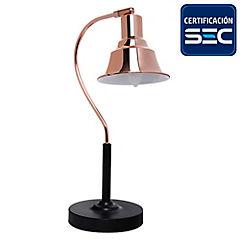 Lámpara de mesa rose E14 15W