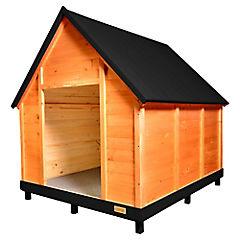 Casa para perro 120x100x130 cm