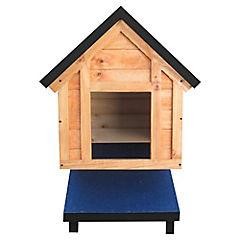 Casa para perro 60x40x70 cm