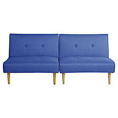 Futón 78x180x90 cm azul
