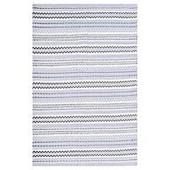 Alfombra Jaipur gris/blanco 200x290 cm
