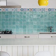Set de azulejos adhesivos 5,5x46 cm 6 unidades