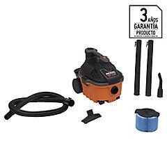 Aspiradora seco/húmedo eléctrica 1100 W 14 litros