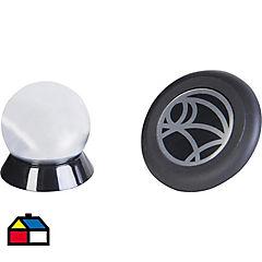 Soporte magnético para celular plástico Negro