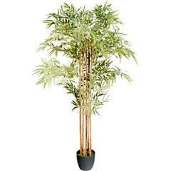 Bambú artificial 180x60x60 cm con macetero