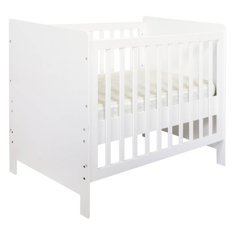 HOMY - Cuna 100x78x117,5 cm blanco