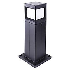 Luminaria solar LED 1,5 W Gris