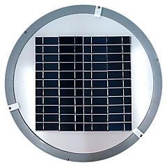 Luminaria solar de exterior 9 W Blanco