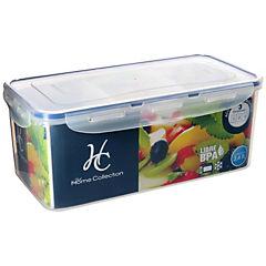 Contenedor de alimentos divisiones plástico 3,4 litros 29,3x14,9x11,7 cm
