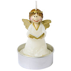 Set 6 velas tealight ángel