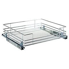 Organizador extensible 14x60x56,4 cm acero Cromado