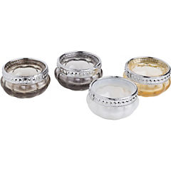 Set de portavelas tealight 4 unidades