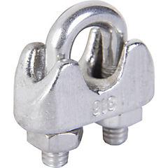 Abrazadera 5 mm acero Cromado