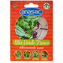 Mix semillas verde fresco 4 gr sachet