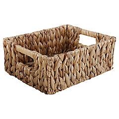 Cesto 10x20x25 cm fibra vegetal natural