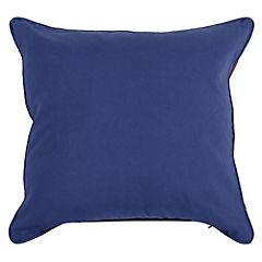 Cojín marino blue&red 50x50 cm