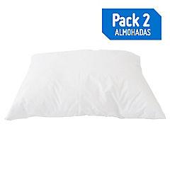 Pack 2 almohadas 132 h 45x65 cm firme