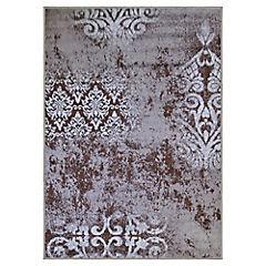Alfombra Monte Trend 133x180 cm chocolate