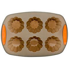 Molde para cupcakes silicona 6 espacios