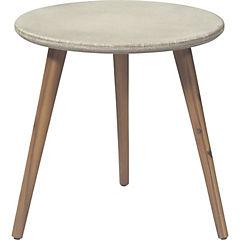 Mesa de apoyo ellie redonda 50x50 cm