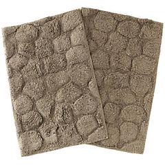 Pack de pisos piedras taupe 40x60 cm