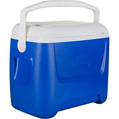 Nevera rígida con asa 26 litros azul