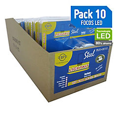 Set de focos LED 50 W 10 unidades