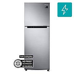 Refrigerador no frost top mount freezer 298 litros silver